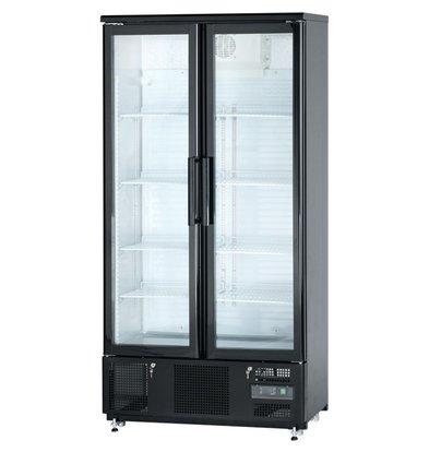 Stalgast Kühlschrank | 2 Glastüren (Schiebe) | 500L | 920x520x (h) 1872mm