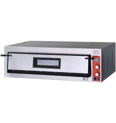 GGF Pizzaofen | F-Linie | 6 Pizzas 36cm | Ext. 1370 x 850 x (h) 420 mm | Int. 1080x720x (H) 140mm