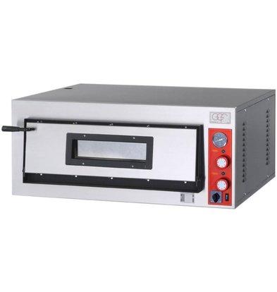 GGF Pizzaofen | FR-Line | 6 Pizzas 36cm | Ext. 1010x1210x (h) 420 mm | Int. 720x1080x (H) 140mm