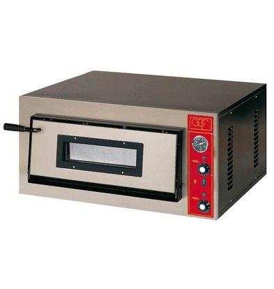 GGF Pizzaofen | E-Line | 9 Pizzas 30cm | Ext. 1150 x 1020 x (h) 420 mm | Int. 910x910x (H) 140mm