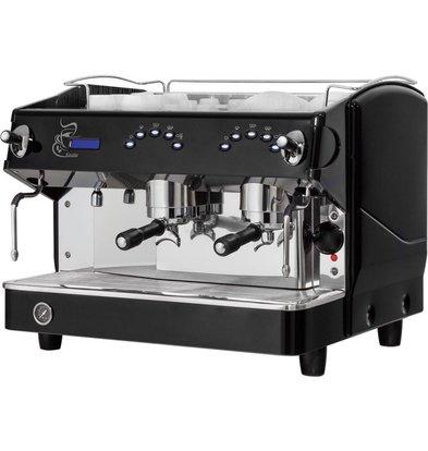 XXLselect Kaffeemaschine | Expresso | 2 Gruppen | Rosetta | 11,5L | 680x590x (h) 550 mm | 4,79 KW