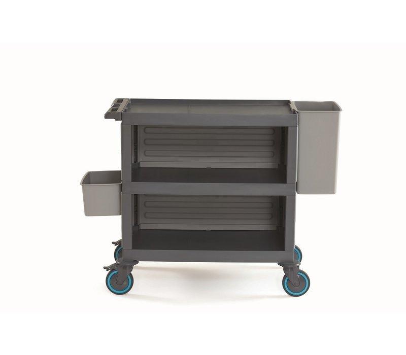 Combisteel Abräumwagen Procart   Bis zu 200kg   1400x530x(h)990