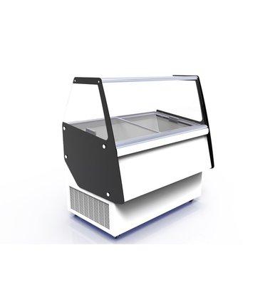 Combisteel Eistheke Ibiza | 8x 5 Liter | -24/-14 °C | 1194x842x(h)1285mm