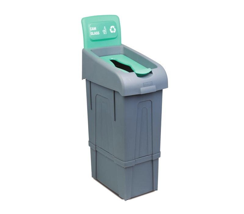 Combisteel Abfallbehälter zum Trennen von Glas | 80 Liter | 340x550x(h)1050