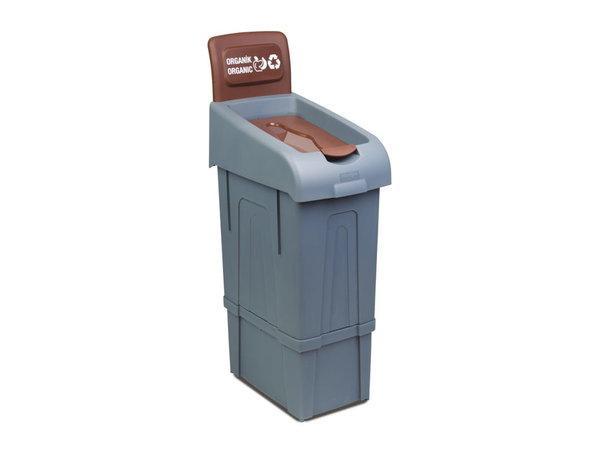 Combisteel Abfallbehälter zum Trennen von Bio | 80 Liter | 340x550x(h)1050