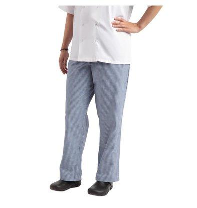 Whites Chefs Clothing Easyfit Kochhose | Blau / Weiß | Karriert | Unisex | Erhältlich in 6 Größen