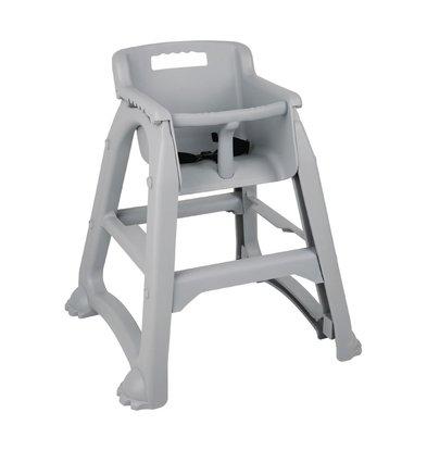 Bolero Kinderstuhl | Grau | Stapelbar | Sitzhöhe 490 mm | 650 x 560 x (H) 730 mm