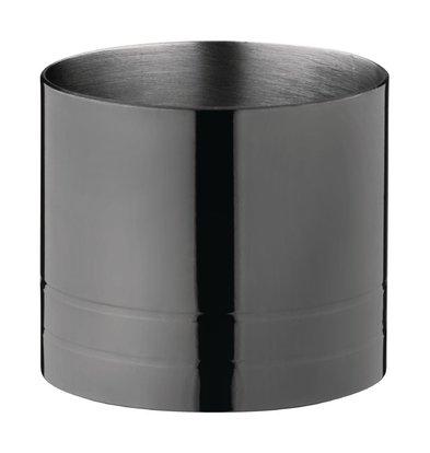 Olympia Barmaß | Schwarzes Modell | 2,5 cl | Ø38x (H) 40mm