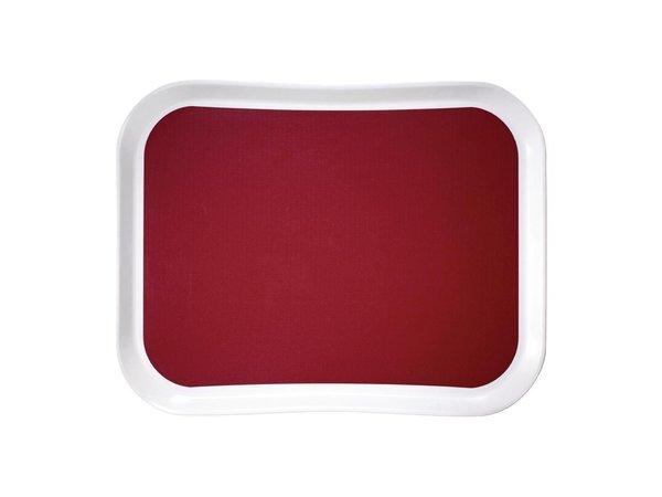Cambro Versa Lite Polyester Tablett | Rot | 430x330mm