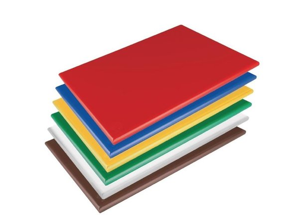 Hygiplas Hygiplas LDPE Schneidebrett   Extra Dick   600x450x20mm   Verfügbar in 6 Farben