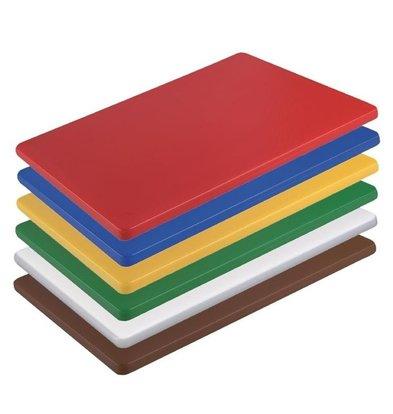 Hygiplas Hygiplas HDPE Schneidebrett   300x225x12mm   Verfügbar in 6 Farben