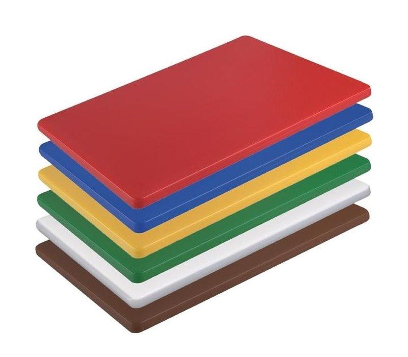Hygiplas Hygiplas HDPE Schneidebrett | 300x225x12mm | Verfügbar in 6 Farben