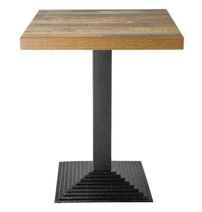 Bolero Quadratische Tischplatte | Urban Dark | Erhältlich in 60 und 70 cm