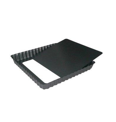 De Buyer Quadratische Kuchenform | Antihaftbeschichtung mit losem Boden | Verfügbar in 2 Größen