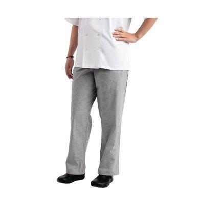 Whites Chefs Clothing Easyfit Kochhose | Schwarz / Weiß | Karriert | Unisex | Erhältlich in 6 Größen