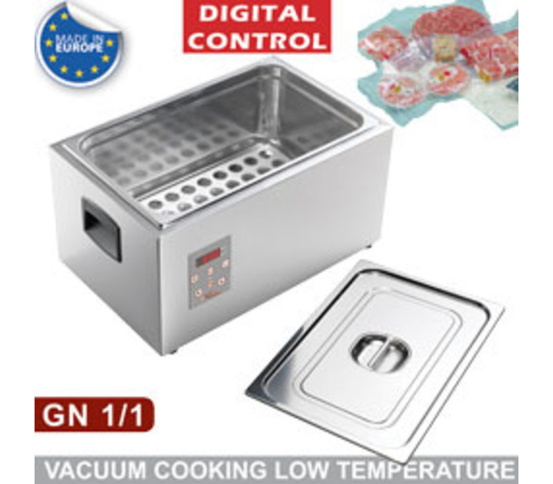Diamond Digitaler Vakuumkocher | 1/1GN | Kochen bei Niedrigtemperatur | 565x360x(h)300mm