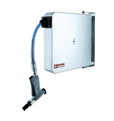 Diamond Reinigungshaspel 6 Meter | Automatisches Aufrollsystem | 80x380x(h)380mm