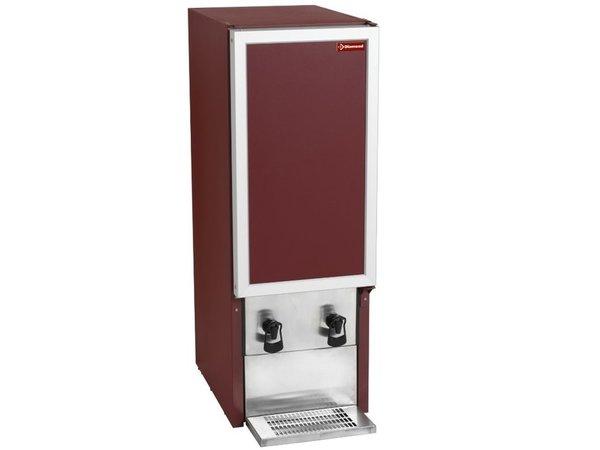Diamond Weinspender 2x 20 Liter   Geignet für Weinkartons   2x Auslaufhahn   392x595x(h)1120mm