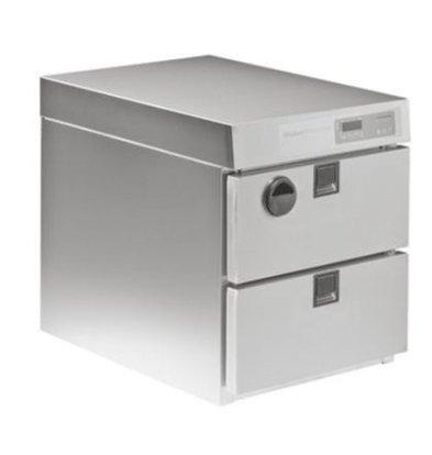 Rieber Thermomat 2 Schubladen GN 1/1 100/150mm | Garen und Warmhaltebn | 0,83kW | 660x604x504mm
