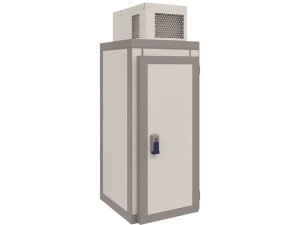 Combisteel Mini-Kühlzelle | Komplettset | -5 / + 5 ° C | 1000x1000x(H)2615 mm