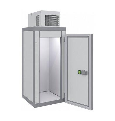 Combisteel Mini-Tiefkühlzelle | Komplettset | <-18 ° C | 1000x1000x(H)2615 mm