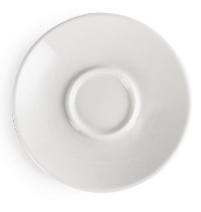 Olympia Untertassen für Y111   12 Stück   Porzellan