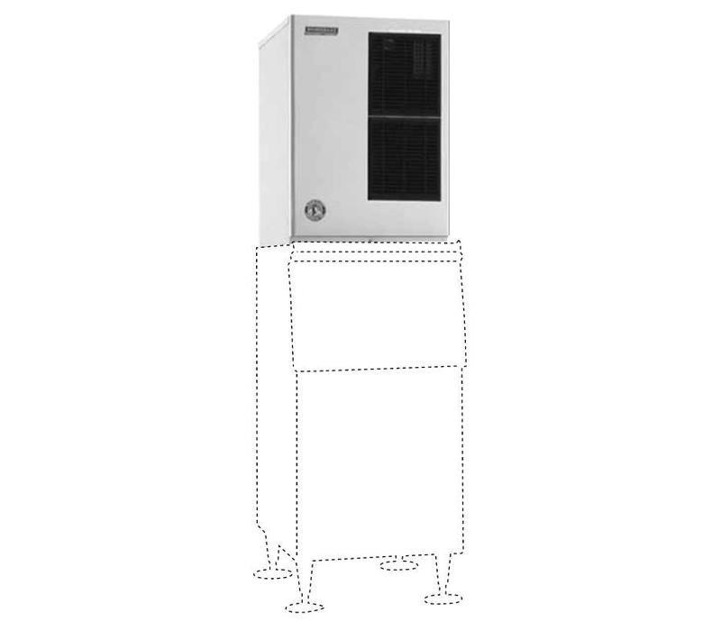 Hoshizaki Eiswürfelmaschine | 238kg/24St | Hoshizaki KM-520MAJ-E | Luftgekühlt | Kein Speicher | Halbmondform