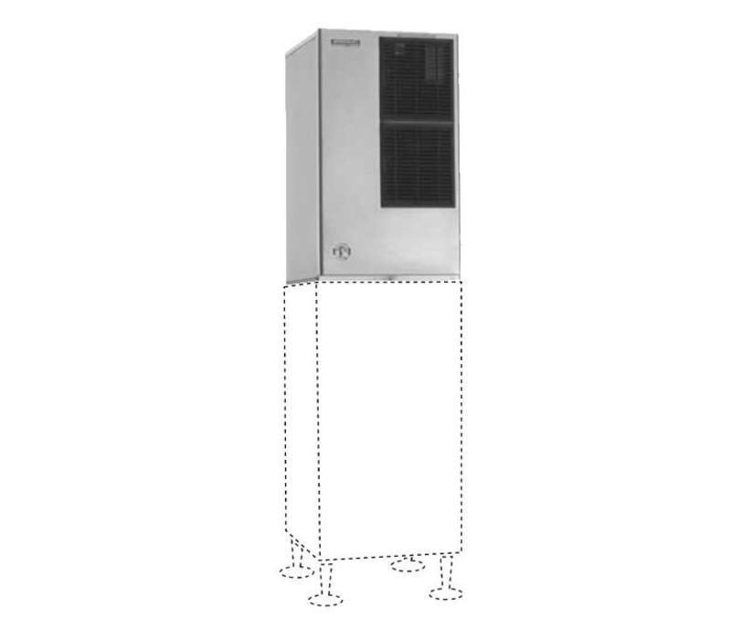 Hoshizaki Eiswürfelmaschine | 280kg/24St | Hoshizaki KM-660MAJ-E | Luftgekühlt | Kein Speicher | Halbmondform
