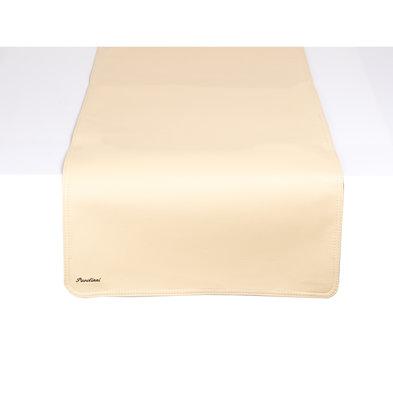 Pavelinni Leder Tischläufer | Classic Cyprus | Einseitig | 450x1200mm | Erhältlich in 8 Farben