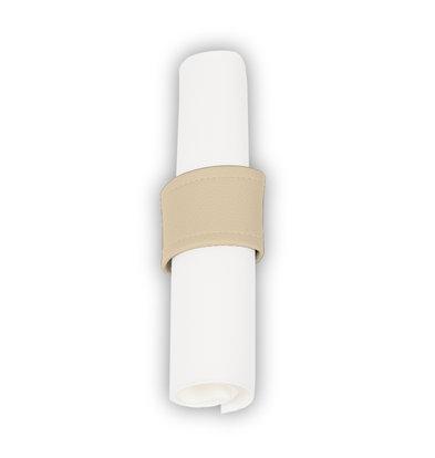 Pavelinni Serviettenring mit Klettverschluss   Classic Cyprus   Ø40-60mm   10 Stück   Erhältlich in 7 Farben