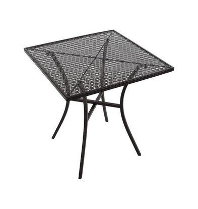 Bolero Bistrotisch | Schwarz Stahll | 70x70cm