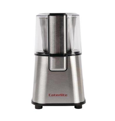 Caterlite Kaffee- Gewürzmühle | Edelstahl Messer | 123x(h)209mm