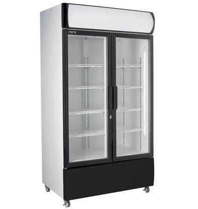 Saro Doppelter Display Kühlschrank | 8 Roste verstellbar | LED Beleuchtung| 568 Liter | 880x610x(h)1973mm