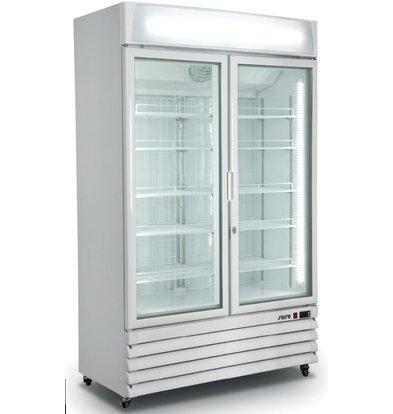 Saro Doppelter Display Kühlschrank  | 10 Roste verstellbar | 800 Liter | 1220x700x(h)1980mm