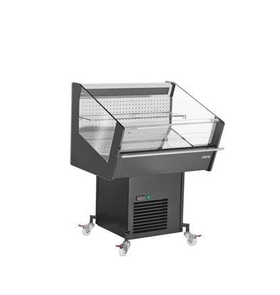 Saro Mobile Kühlvitrine | Selbstbedienung | 1200x826x(h)1265mm