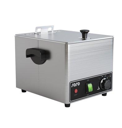 Saro Wurstwärmer mit Rost | 4,6 Liter | 0,9 kW | 260x320x(h)260mm