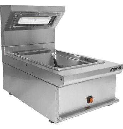 Saro Pommeswärmer 1/1GN | 1 kW | 400x700x(h)270/590mm