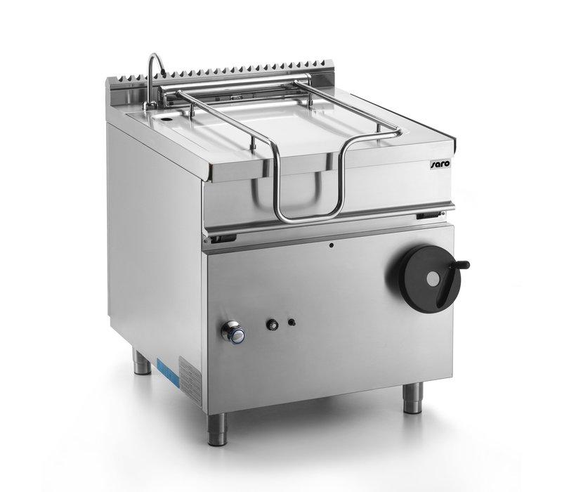 Saro Gas-Kippbratpfanne | 50 Liter | 12kW | 800x700x(h)850mm