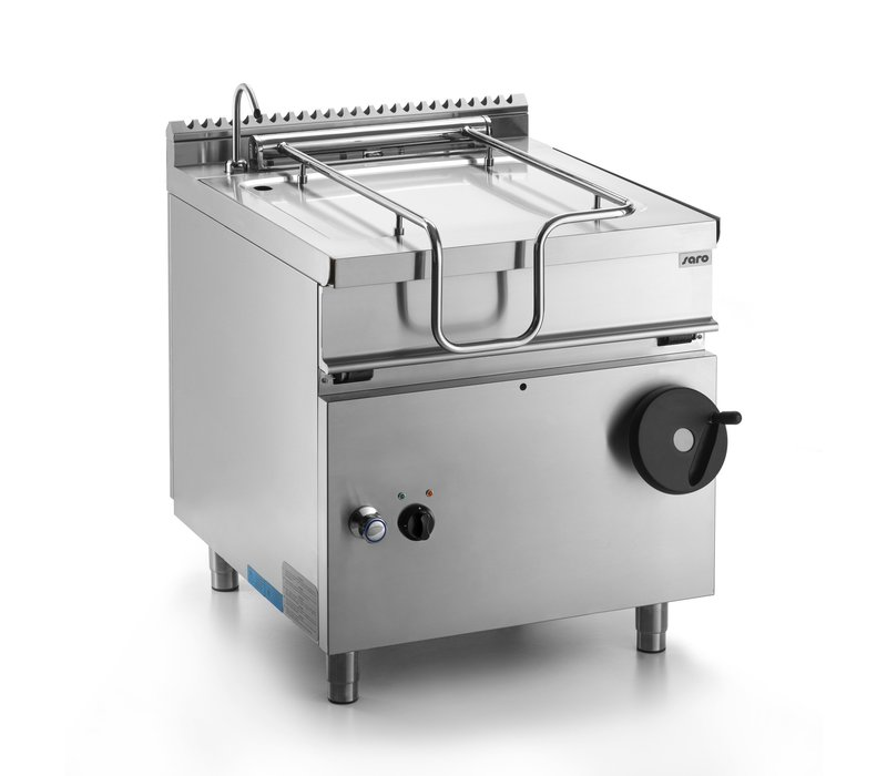 Saro Elektro-Kippbratpfanne | 50 Liter | 8,7kW | 800x700x(h)850mm