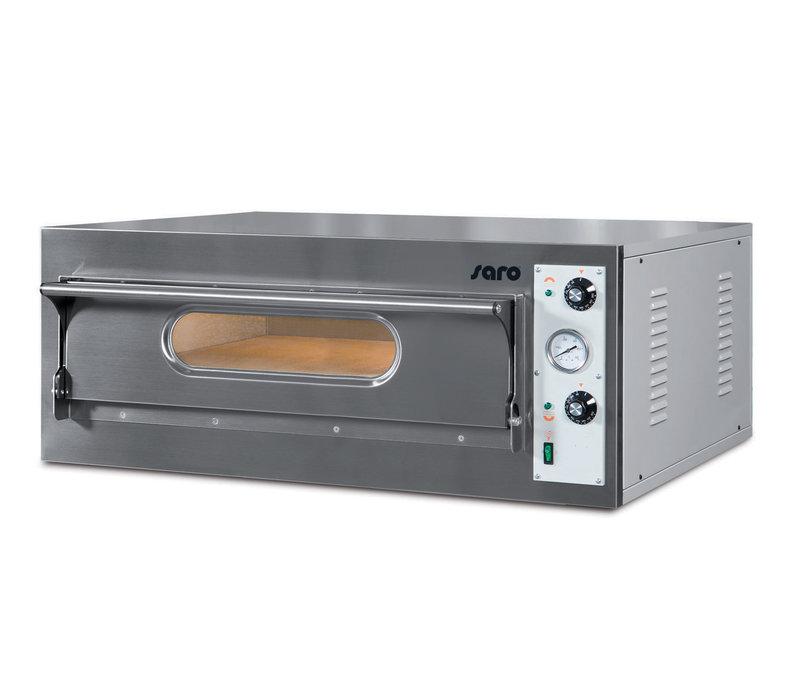 Saro Pizzaofen | 1 Kammer | 9kW | 6 Pizza's von Ø360mm | 1310x865x(h)395mm