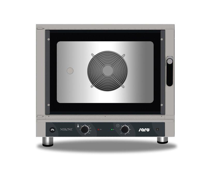 Saro Heißluftofen mit Beschwadung | Feuchtigkeitsinjektion | Manuelle Bedienung | 840x910x(h)670mm