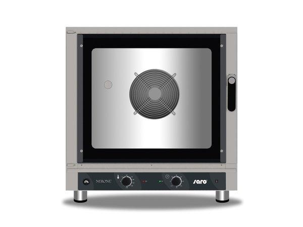 Saro Heißluftofen mit Beschwadung | Feuchtigkeitsinjektion | Manuelle Bedienung | 840x910x(h)830mm