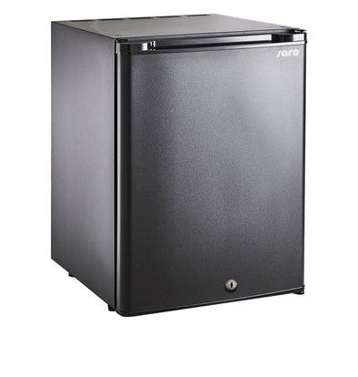 Saro Minibar Kühlschrank Tischmodell MB 30   Massivtür   402x440x(H)500mm