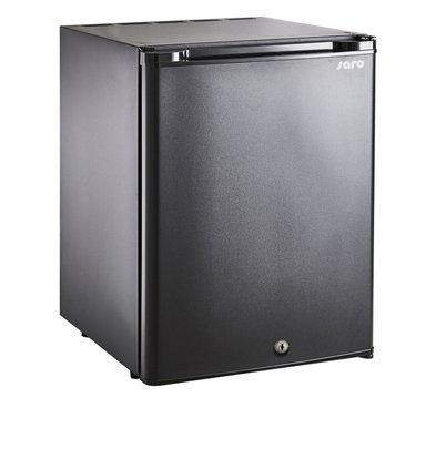 Saro Minibar Kühlschrank Tischmodell MB 40   Massivtür   402x465x(H)560mm