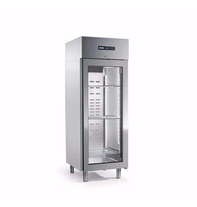 Afinox Gastro Gefrierschrank | Glastür | ENERGY 700 BT PV (R) | 700 Liter | 733x844x(H)2090 mm