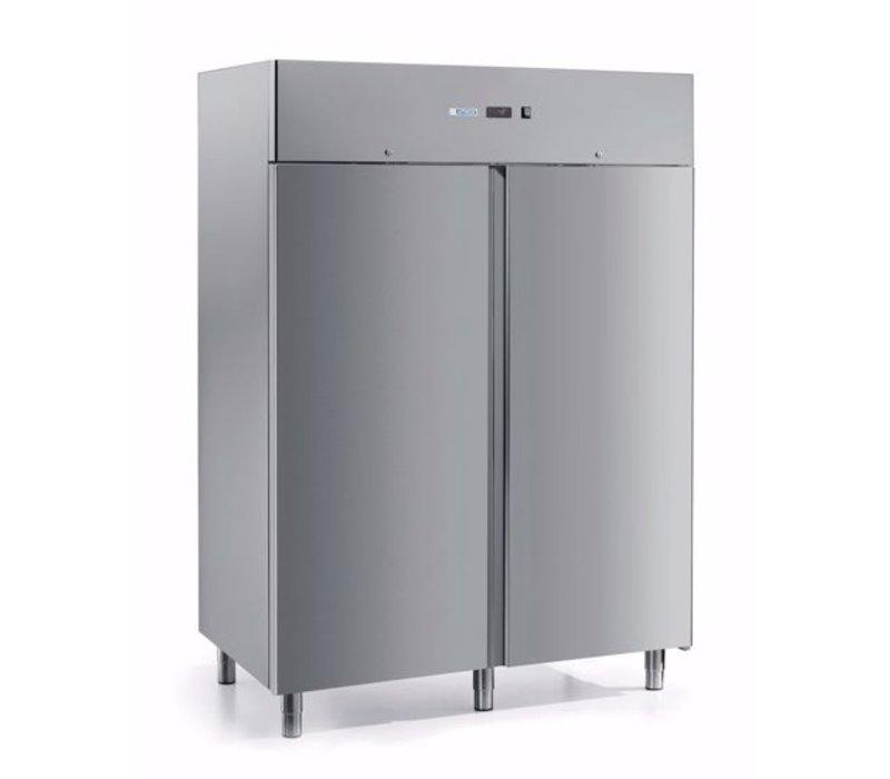 Afinox Gastro Kühlschrank | Doppeltür | FROSTY 1400 TN PC | 1400 Liter | 1466x839x(H)2090 mm