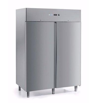 Afinox Gastro Gefrierschrank | Doppeltür | FROSTY 1400 BT PC | 1400 Liter | 1466x839x(H)2090 mm