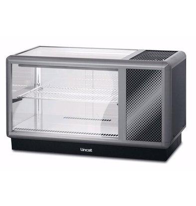 Lincat Kühlvitrine | D5R/100B | Bedienung Rückseite | 1000x500x(H)575mm