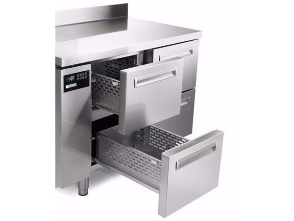 Afinox Kühltische | 3x 2 Schubladen  | SPRING 703 I/A TN 6L | 1780x700x(H)900mm