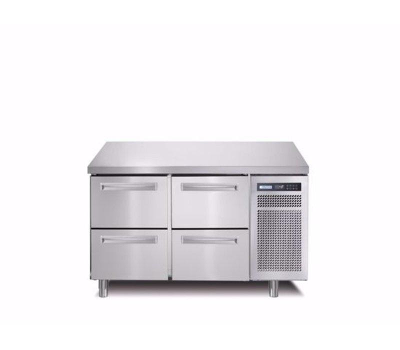 Afinox Kühltische   2x 2 Schubladen    SPRING 702 I/A TN 4L   1300x700x(H)900mm